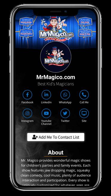 MrMagico Card